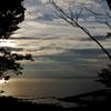 夕を迎える湾