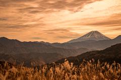 富岳百景「日出づる里」にて