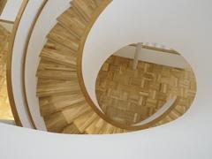 京セラ美術館の螺旋階段