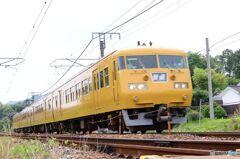 下り 117系 普通列車