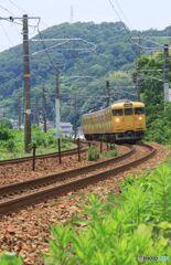 列車撮影  115系 上り普通列車