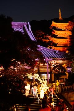 真夏の竹灯籠 ②