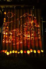 真夏の竹灯籠 ⑨