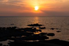 夕陽のまち