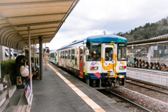 信楽駅発車