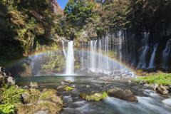 滝好き目線の白糸の滝