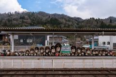 たぬきの駅