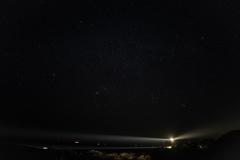 拡大してご覧w夜空の星たちが