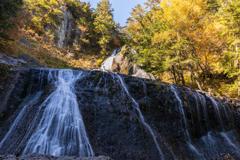 秋の三本滝