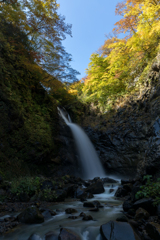 妙高の不動滝