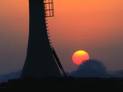 灯台日の出