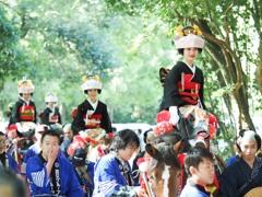 ミスシャンシャン馬(宮崎神宮大祭)