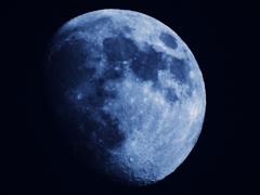 たまには月を