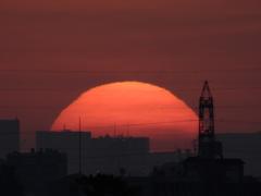 都内の日の出