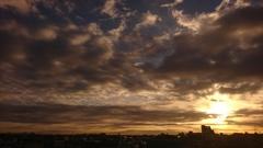 ある冬の日の朝