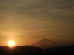 久しぶりの区切り富士