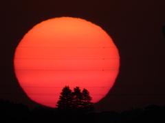 三本木と朝日