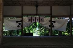 志都岐山神社にて
