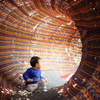 光のトンネル♪