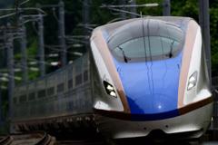 安中榛名駅にて E7系