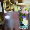 瓶詰めの花