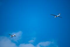青空とグライダー