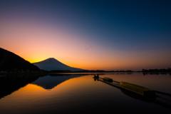 田貫湖の夜明け #1
