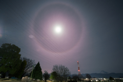 不思議な月明かりの夜