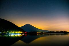 星空の田貫湖