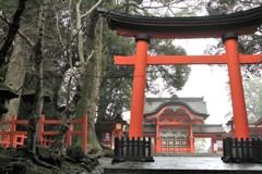 宇佐神宮(西大門)