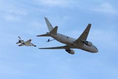 2018 岐阜基地航空祭 KC-767 空中給油模擬飛行 ②