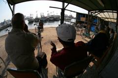 昼下がりの漁師町・・♪