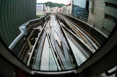 『神戸ポートライナー!』先頭車窓からの風景(2)・・・♪