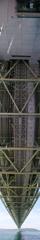 明石海峡大橋 垂直方向パン