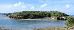 備瀬の離れ小島