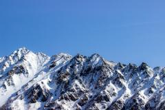 西穂高岳(冬)