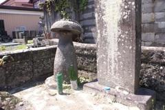 天恩皇徳寺の小原庄助の墓