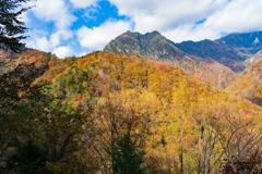 秋の西沢渓谷