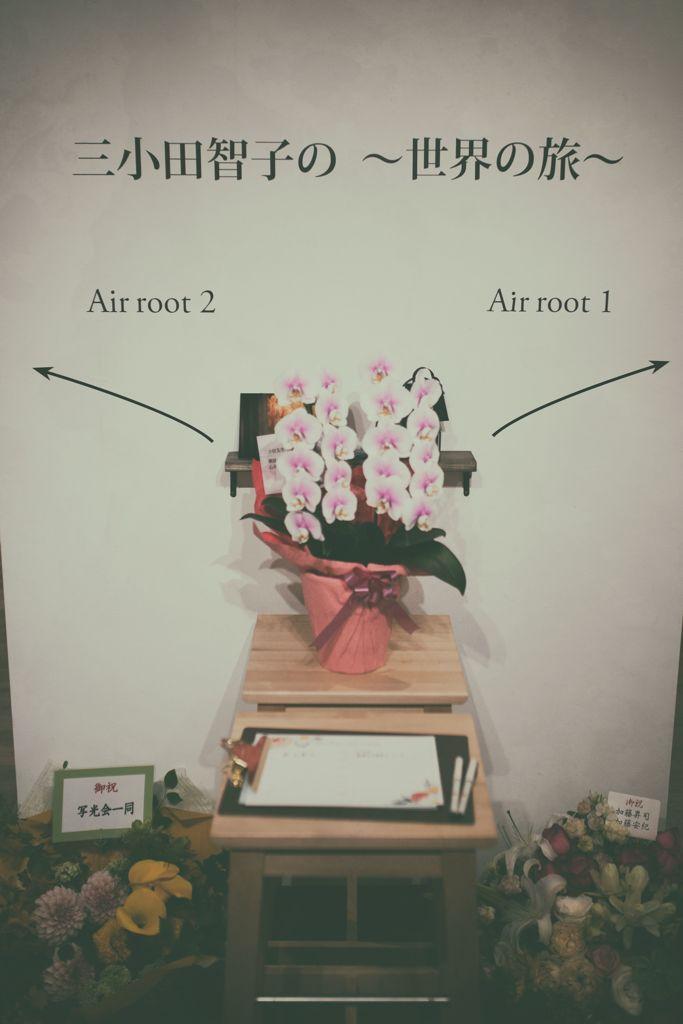 三小田智子さんの個展会場