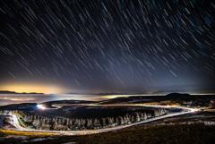 星降る夜のドライブ