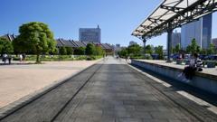 横浜港駅プラットホーム跡