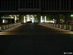 平和公園 広島の静かな夜-1【蔵出-2013】