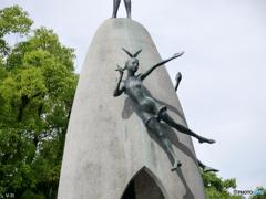 原爆の子の像-2【蔵出-2014】