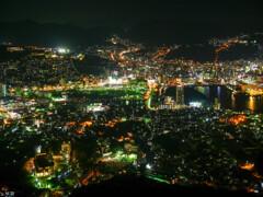長崎 稲佐山からの夜景-1 【蔵出-2012】
