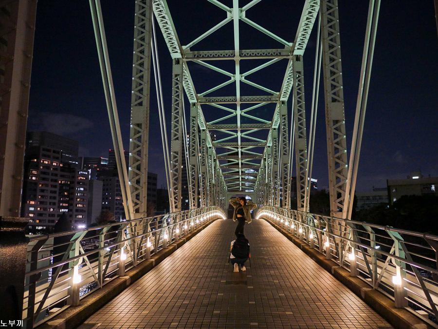 週末の夜散歩-天王洲アイル夜景-1