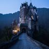 明け方のエルツ城