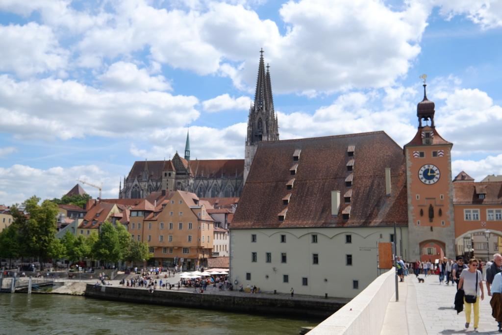 レーゲンスブルグの街