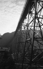 夏も終わりの餘部鉄橋。