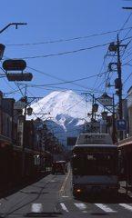 富士山麓の町、富士吉田市。