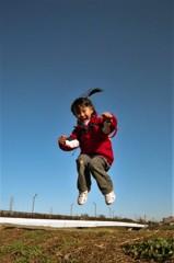 跳ねっこ。